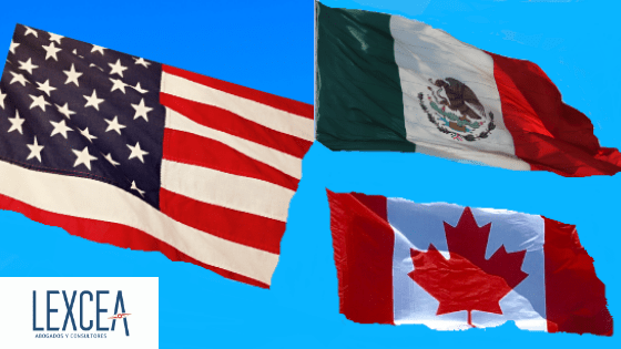 Banderas T-MEC